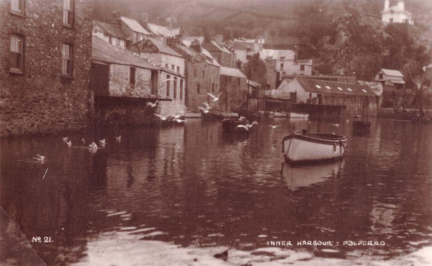 Inner Harbour, Polperro - 1900s