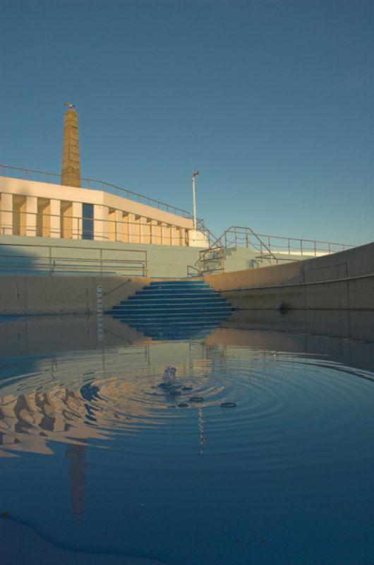 Penzance jubilee pool ripples