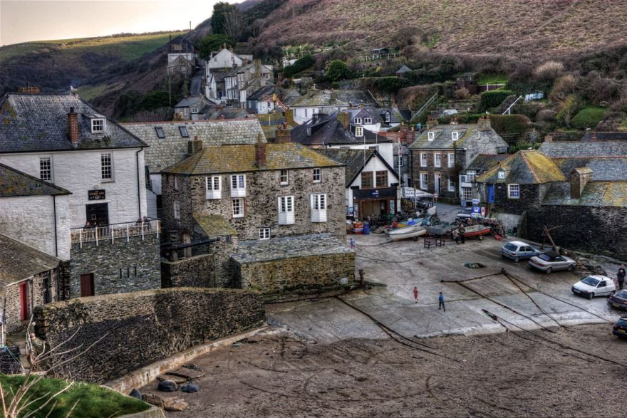 Port Isaac Harbour - Winter afternoon