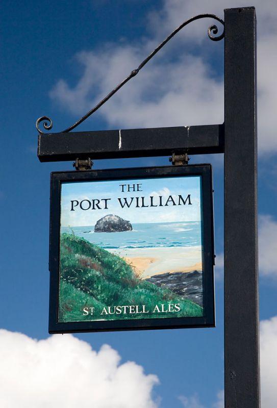 Port William pub sign