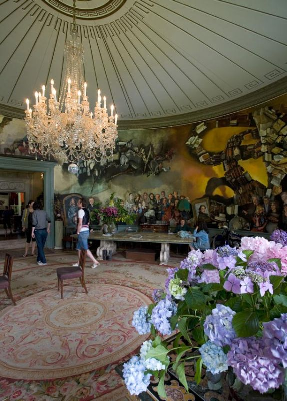 The Round Room - Port Eliot House