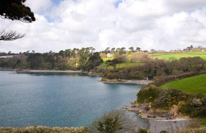 Porthallack and Porth Saxon view