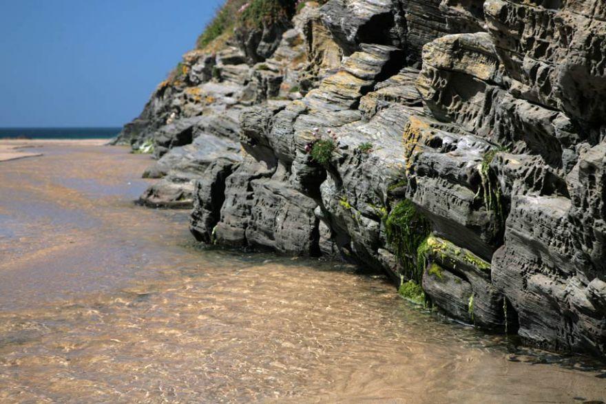 Portcothan Beach Close Up
