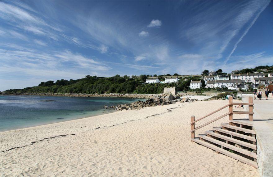 Porthcressa beach - Scilly