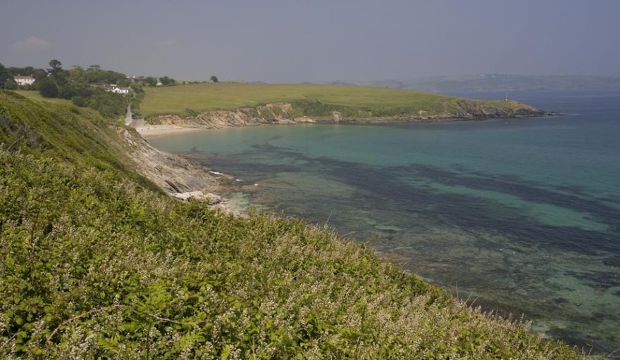 View to Porthcurnick Beach