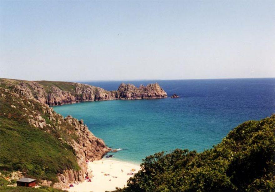 Porthcurno Cove