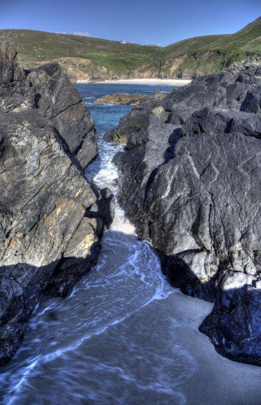 Portherras gully