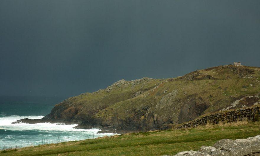 Black Sky over Porthledden