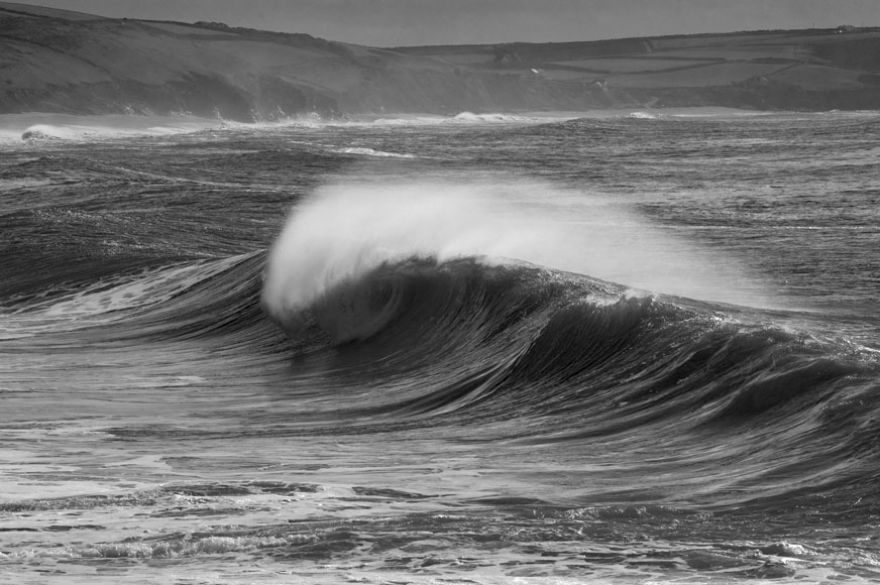 Wave - Porthleven Beach