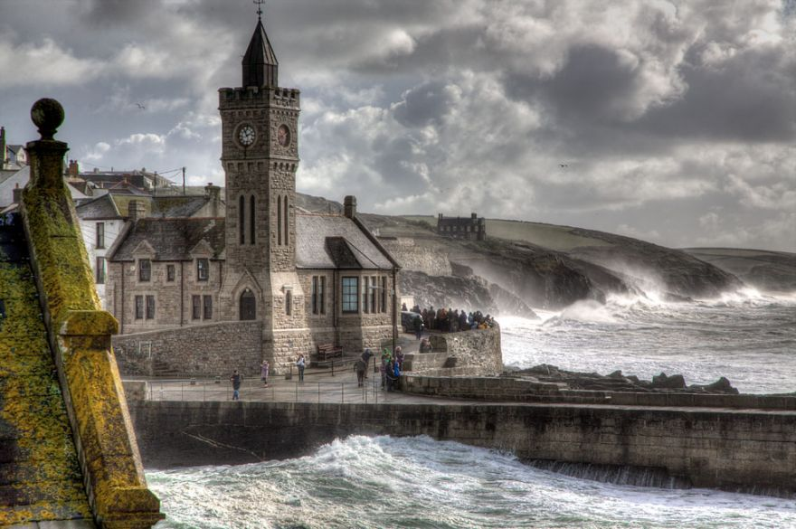 Porthleven October Storm