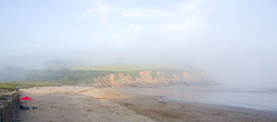 Porthluney Cove Fog
