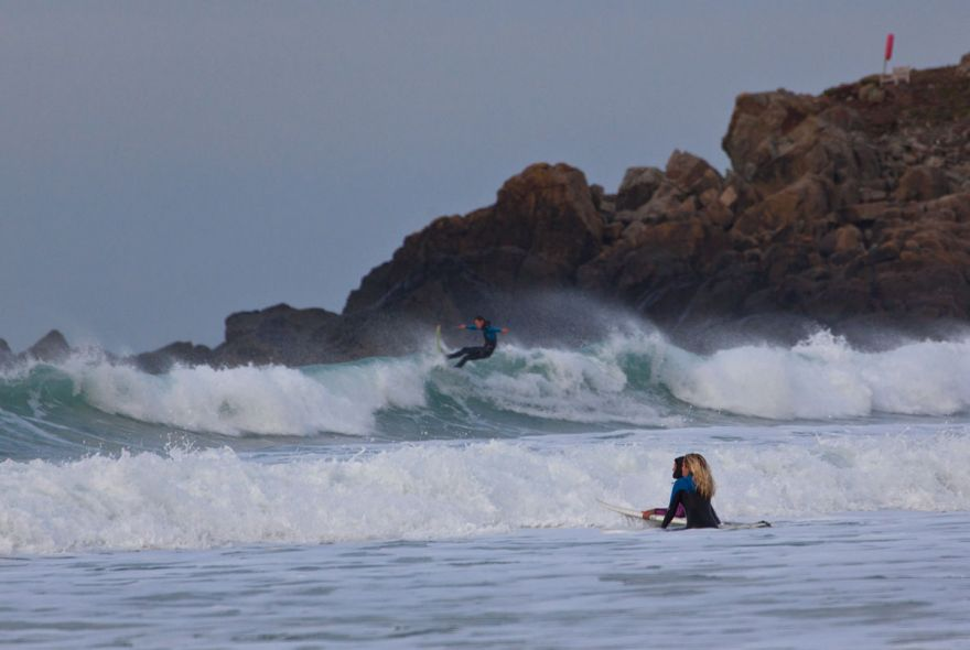 Porthmeor paddle out