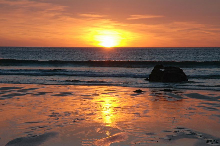 Porthmeor Sunset - St Ives