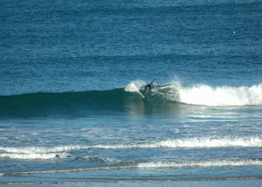 Surfer at Porthmeor
