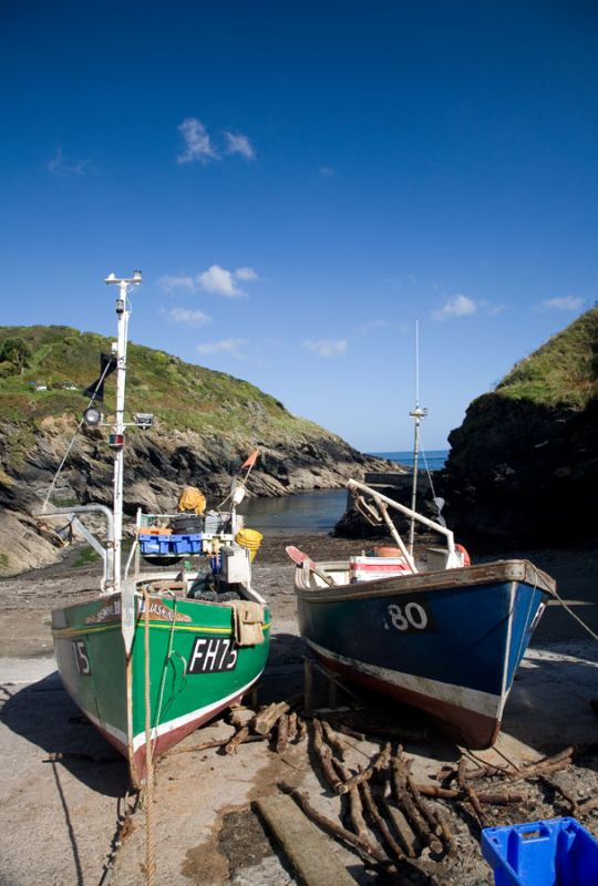 Fishing Boats - Portloe