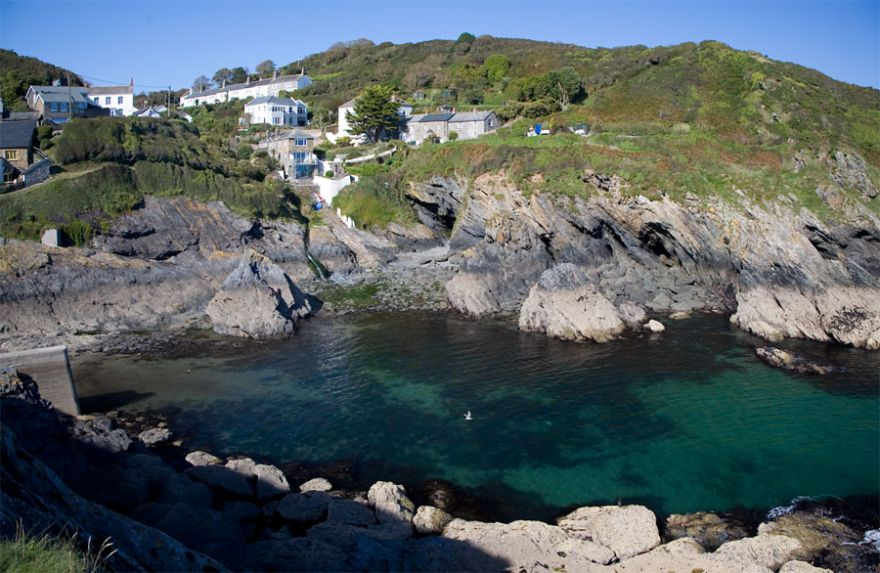 Portloe Harbour - The Roseland