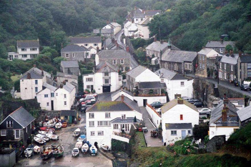 Portloe Fishing Village