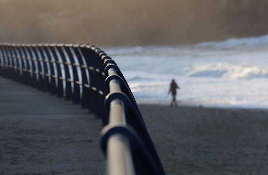 Portreath - Evening stroll on the beach