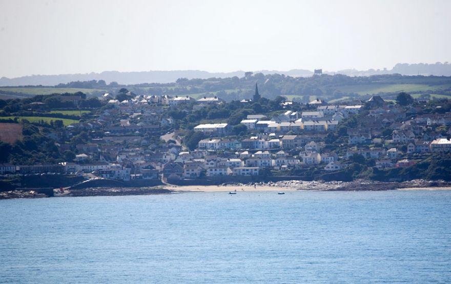 Portscatho across Gerrans Bay
