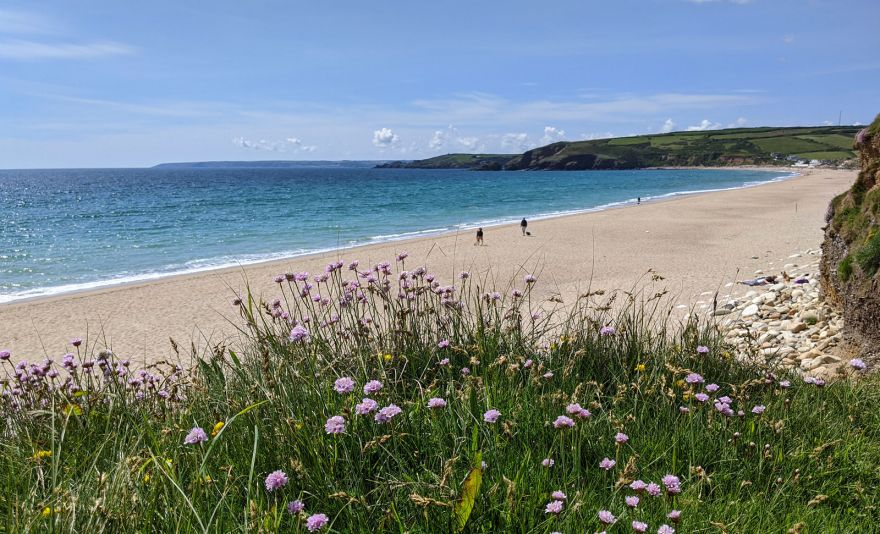 Praa Sands Beach - From the other end