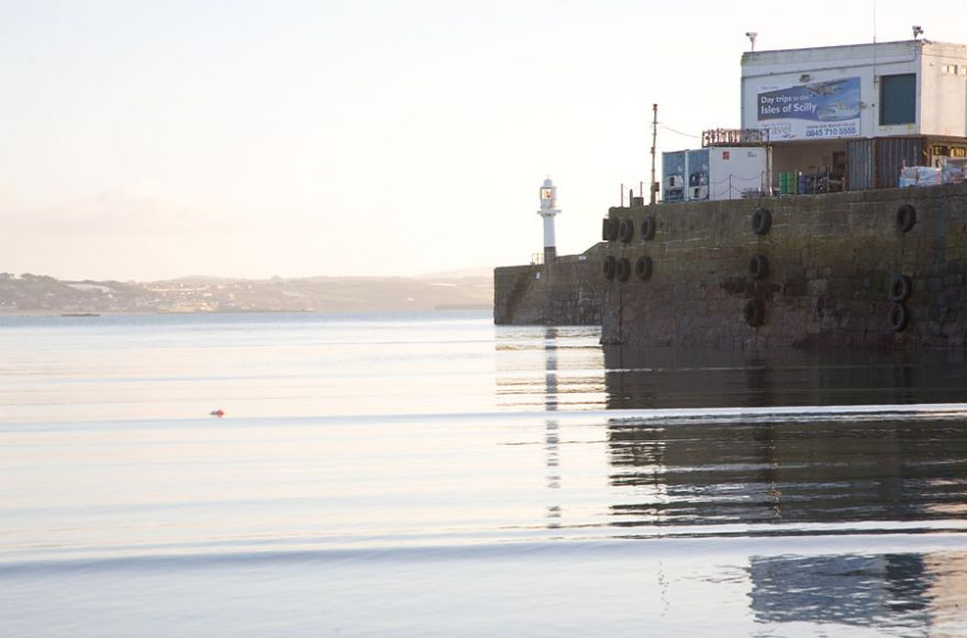 Penzance Harbour - Morning Light