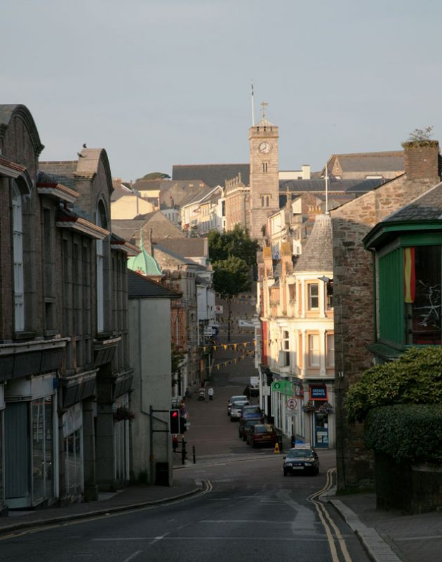 Redruth - View up Fore Street