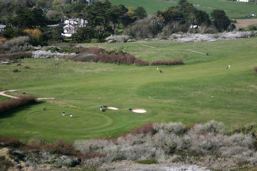 Golf at St Enodoc