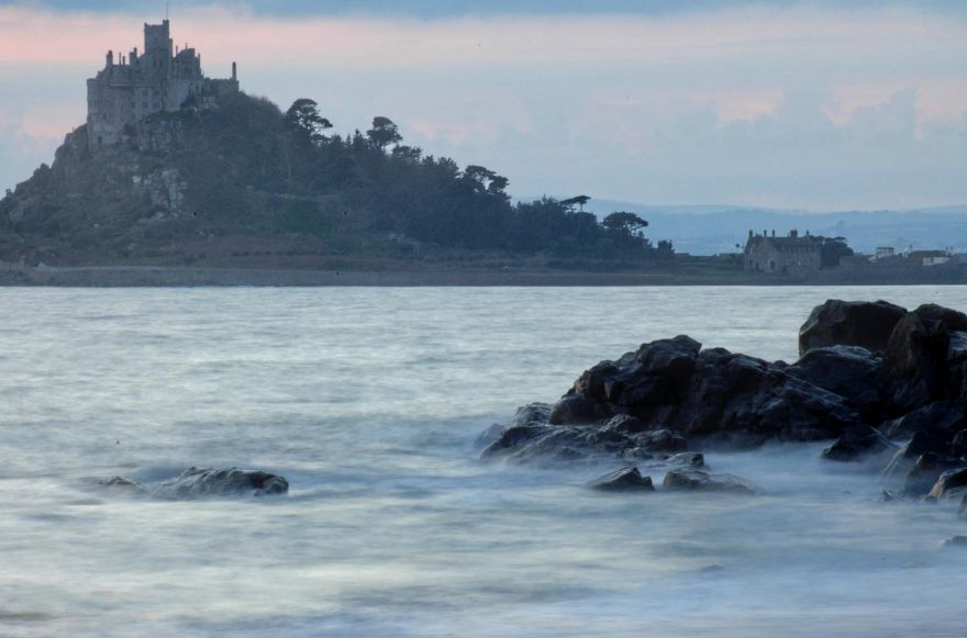 St Michael's Mount at Dusk