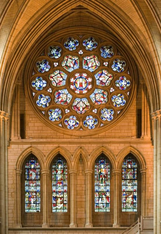 Rose Window - Truro Cathedral