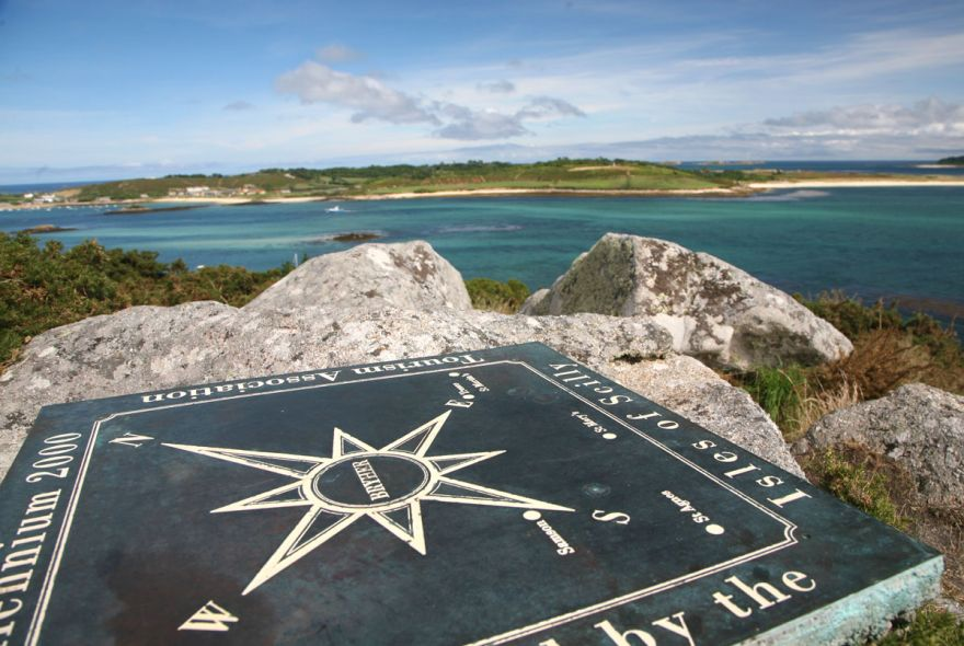 View from Samson Hill - Bryher