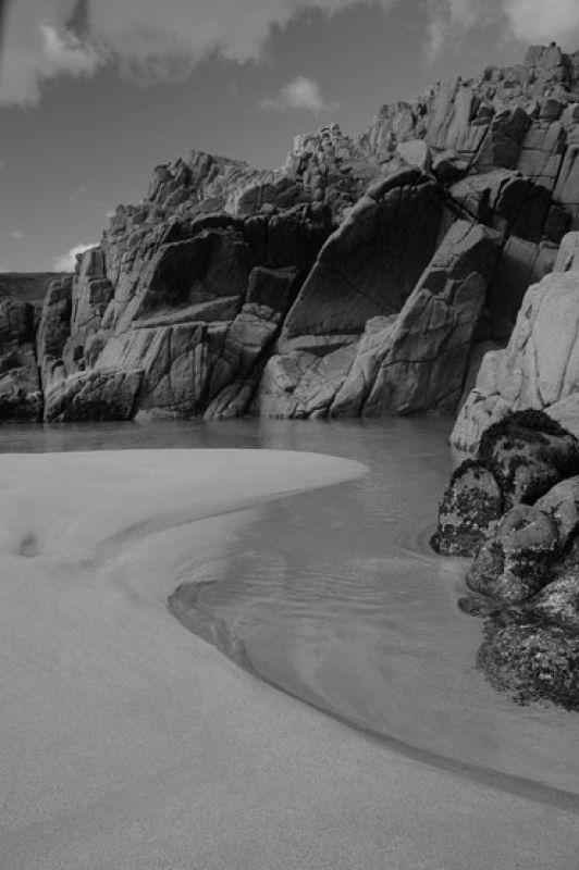 Sand spur Logans Rock