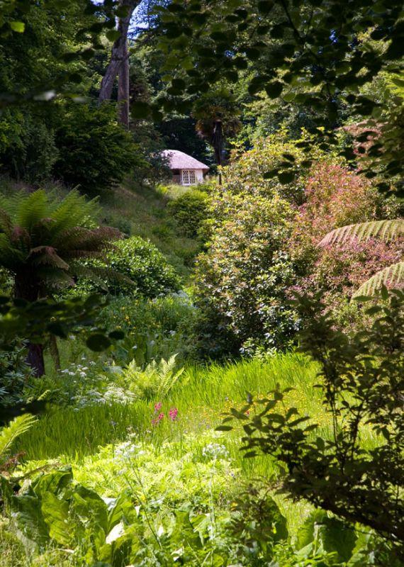View to the Schoolroom - Glendurgan