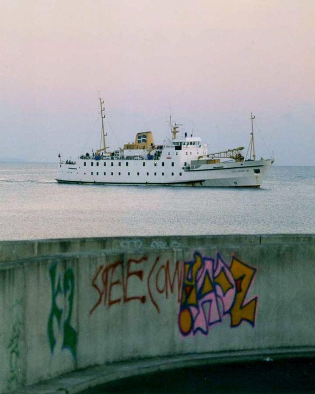 Scillonian , Penzance graffiti