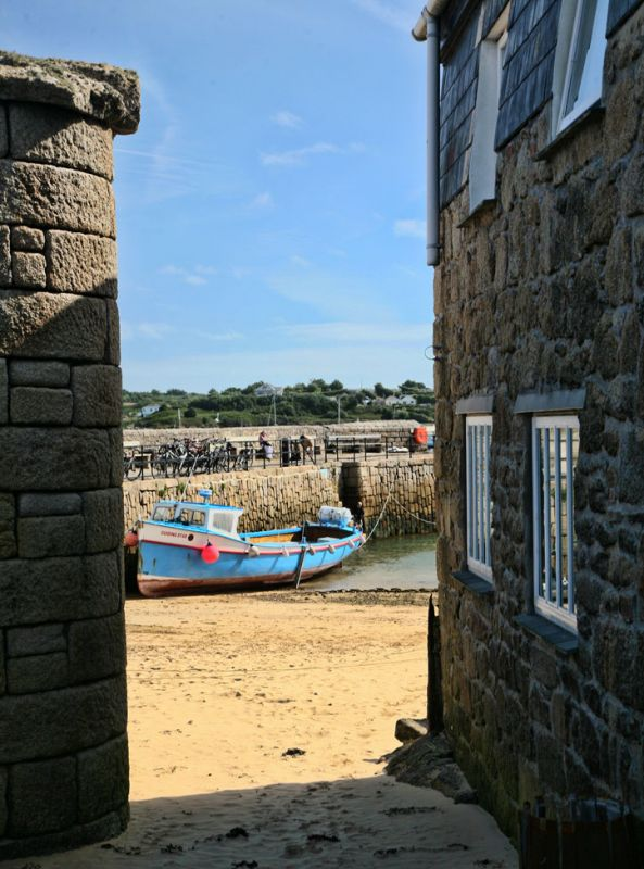 St Mary's harbour glimpse