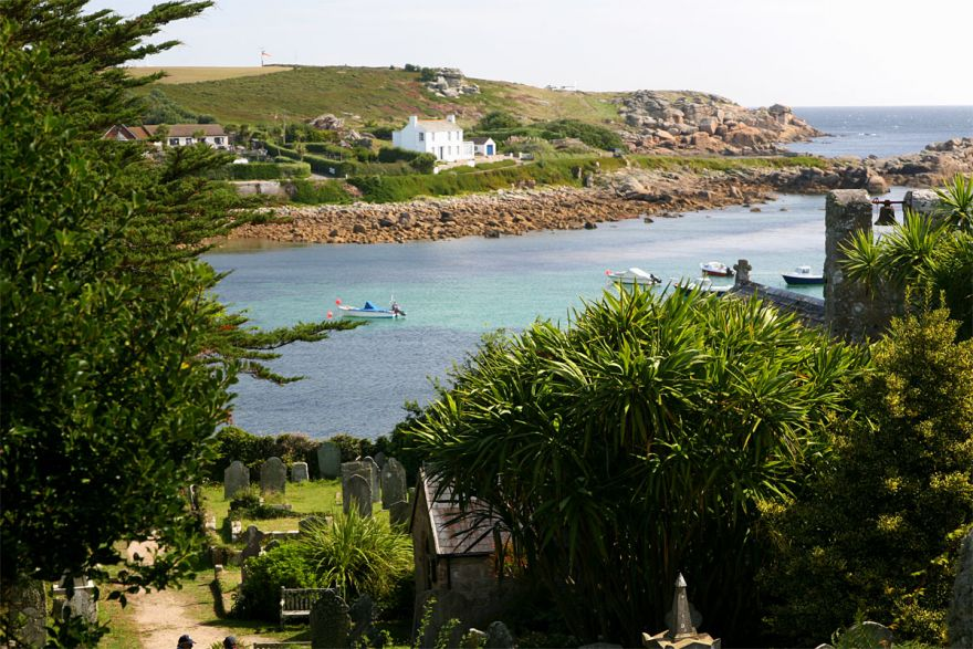 View over Old Town Bay