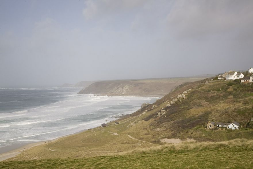 Big Swell off Sennen