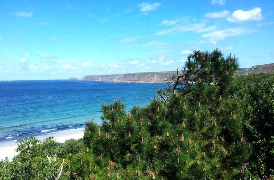 Sennen Beach Glimpse