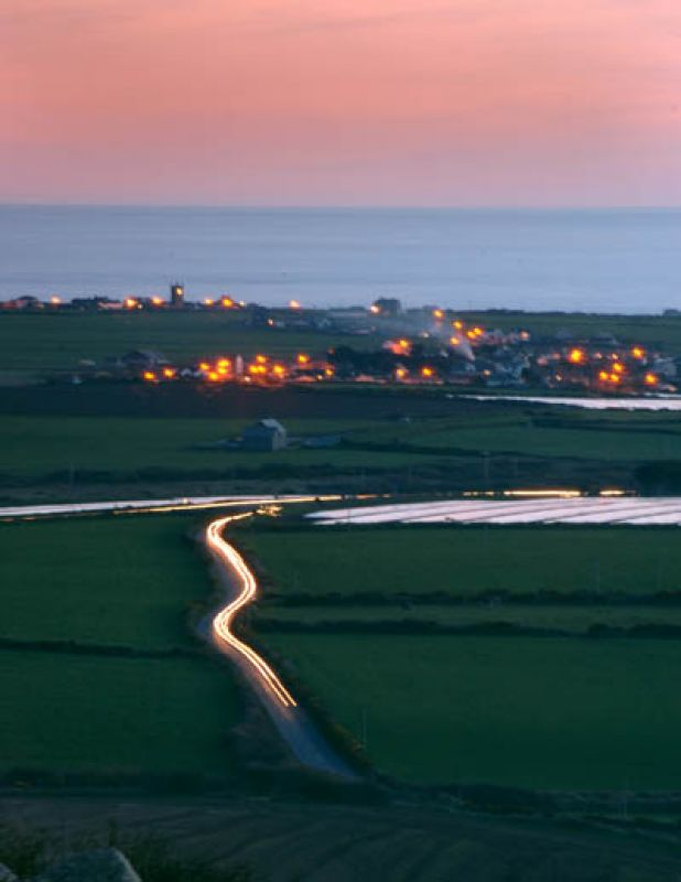 Sennen from the Carn at Dusk