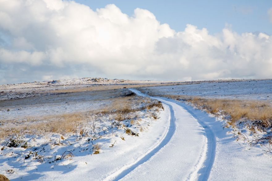 Snow on the Moors
