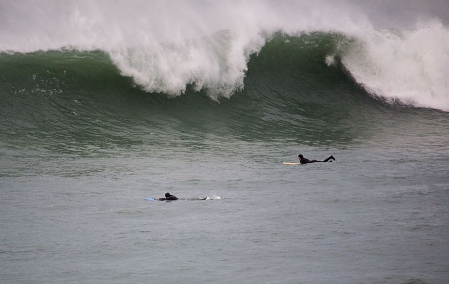 South Fistral - On the head!