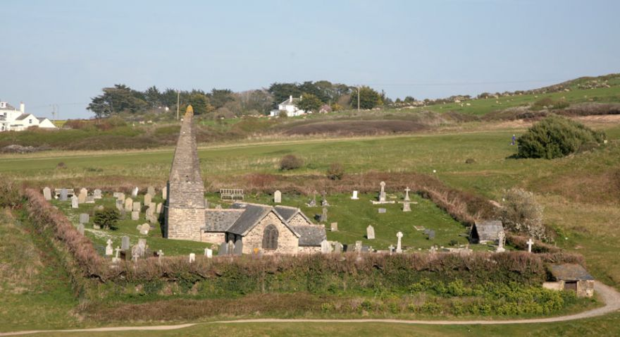 St Enedoc's Church - Rock
