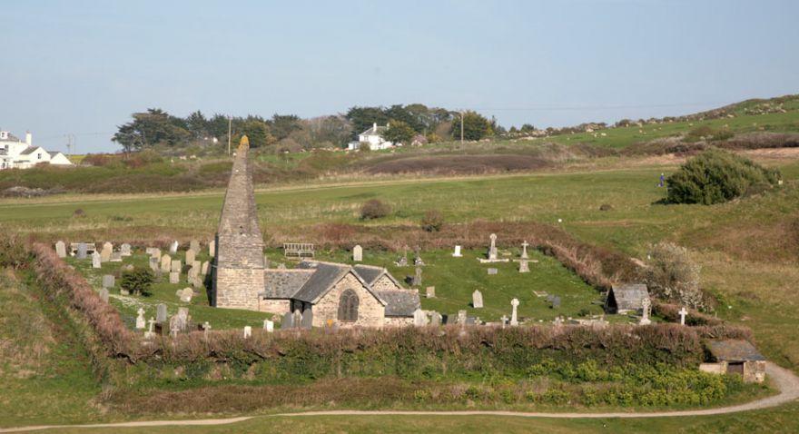 St Enedoc's Church - Rock