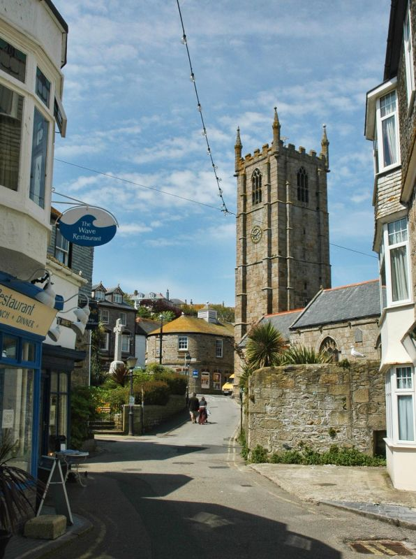 St Ives Church View