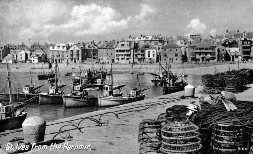 St Ives Harbour - 1940s