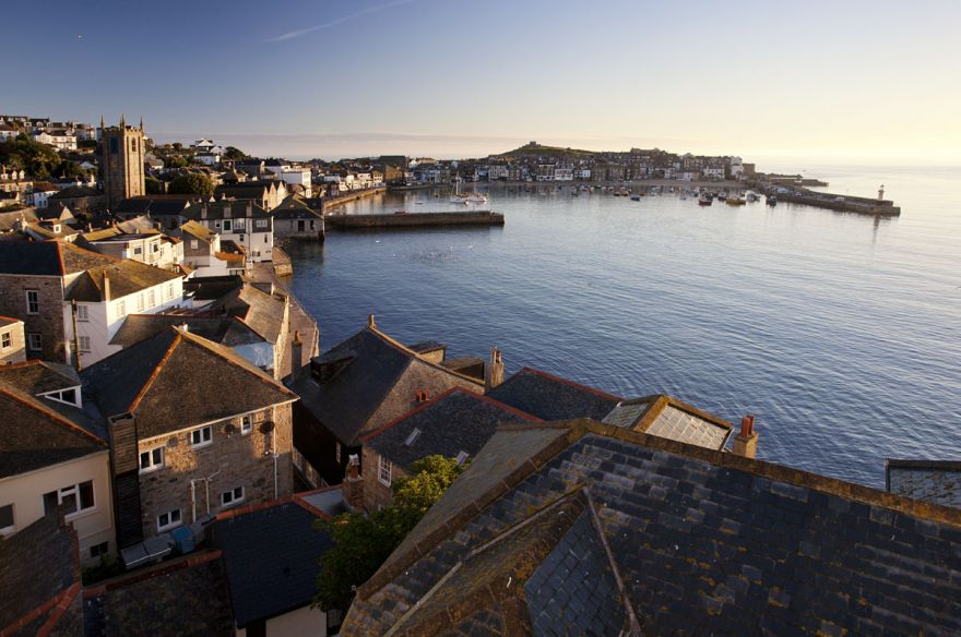 St Ives Harbour - Early light