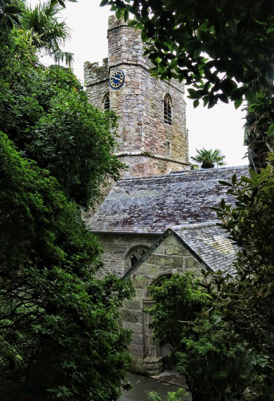 Church at St Just in the Roseland