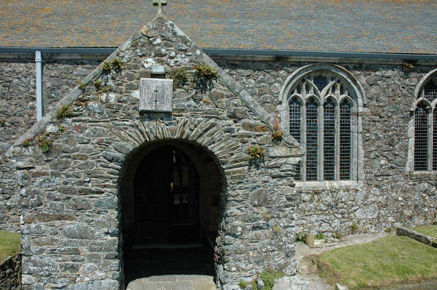 St Keverne Church Doorway