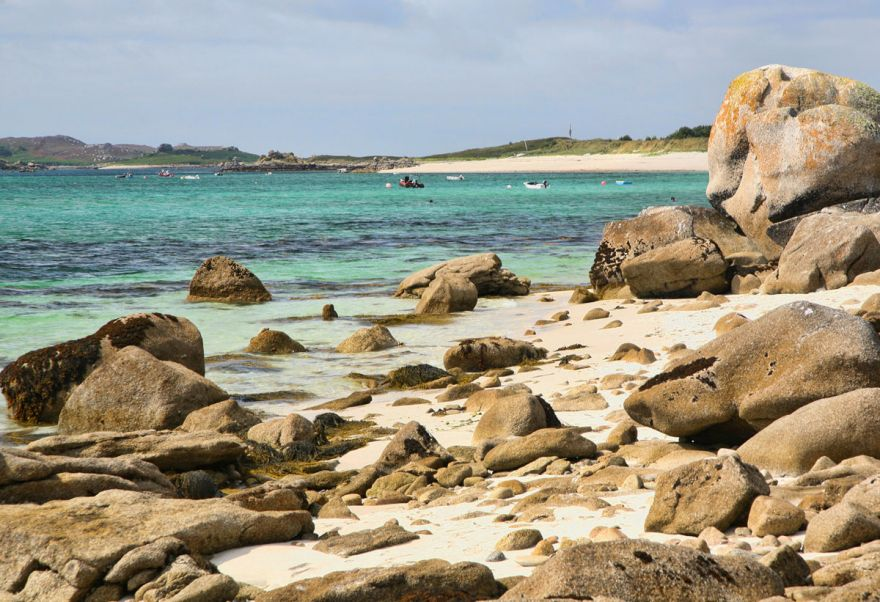 Yellow Rocks - St Martin's, Scilly