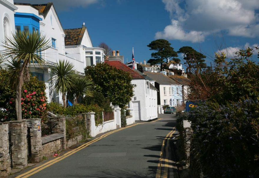 St Mawes - Castle Road