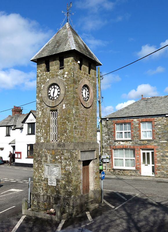 St Teath Clock Tower